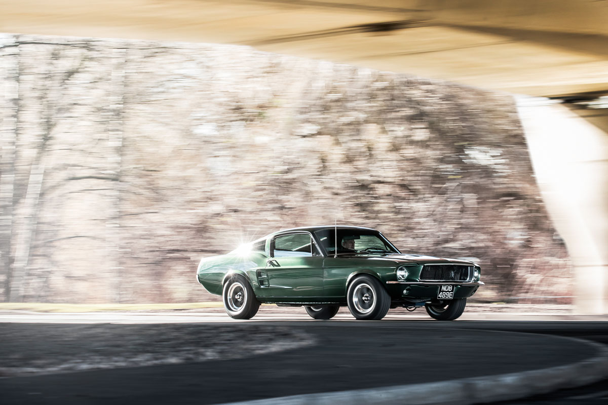 #37, Ford, Mustang, Bullitt, Steve McQueen, Ponycar