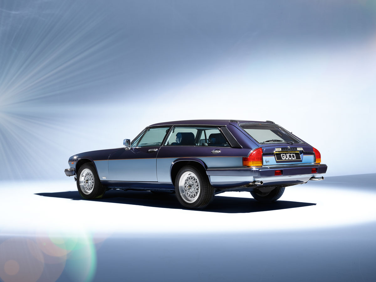 #25, Jaguar, XJ-S, Lynx Eventer, Gucci