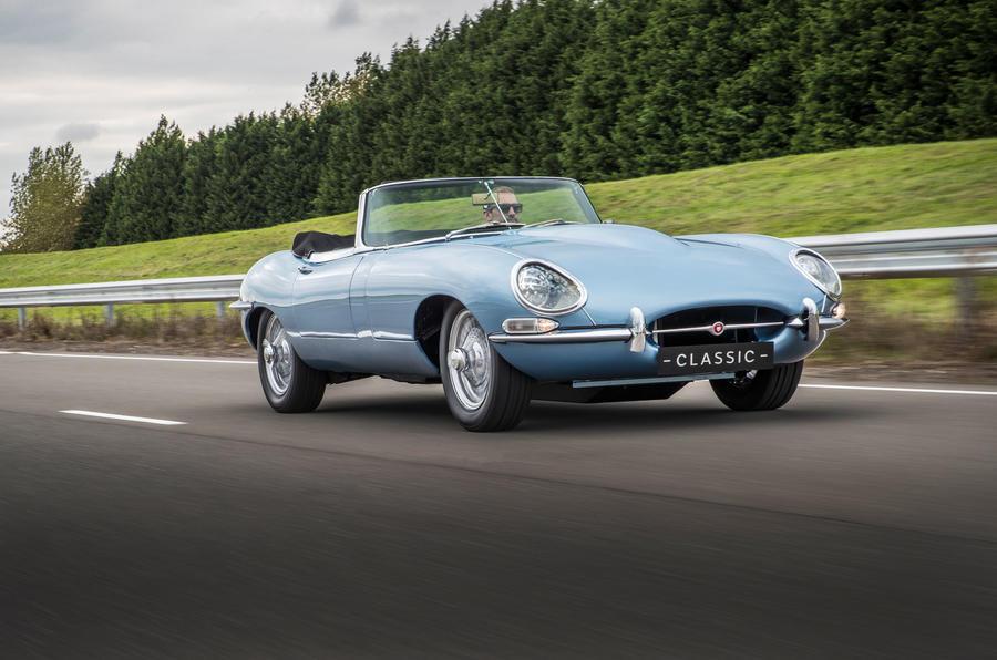 """Jaguar E-Type """"Concept Zero"""""""