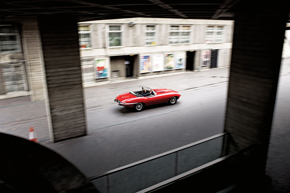 #23, Jaguar, E-Type, London