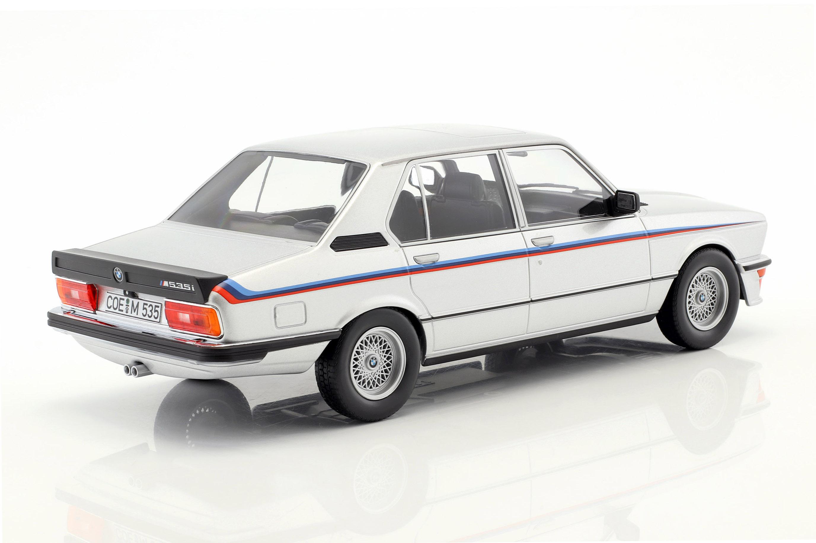 BMW M535i E12 Baujahr 1980 weiß 1:18 Norev