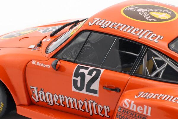 Porsche 935 #52 Winner Bergischer Löwe Zolder DRM 1977 Manfred Schurti 1:18