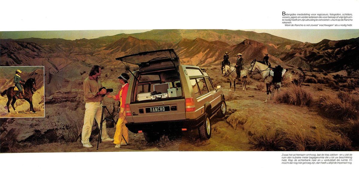 #33, Matra, Talbot, Simca, Rancho,