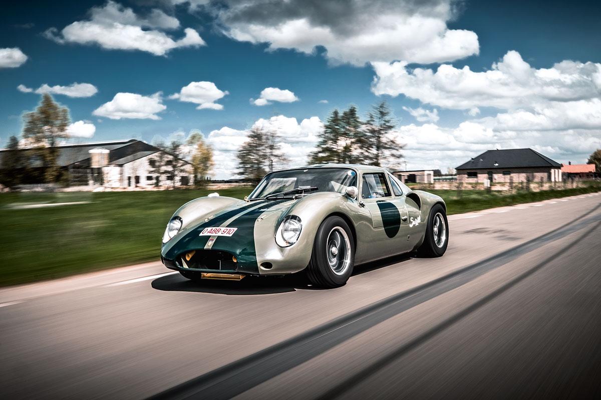#26, Vixen GT, Mittelmotor, Unikat, Ian Stronach, GT40