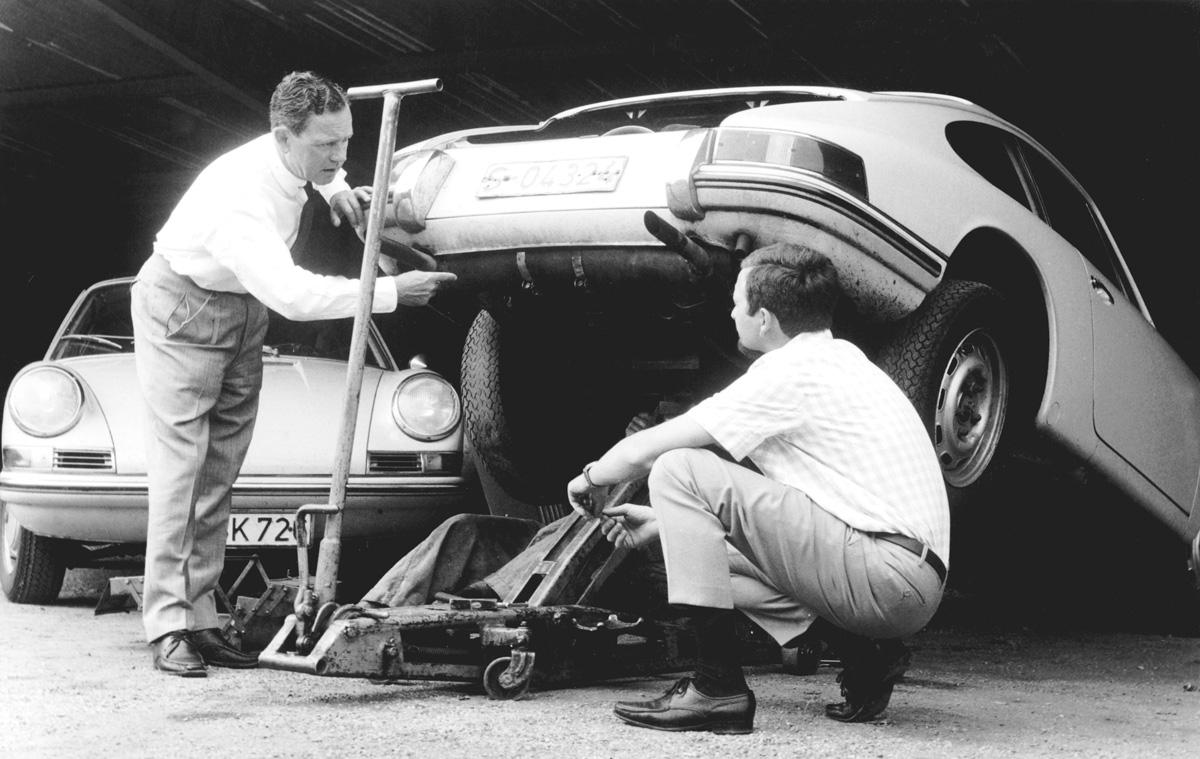 #41, Ferry Porsche, Interview, Elektroauto