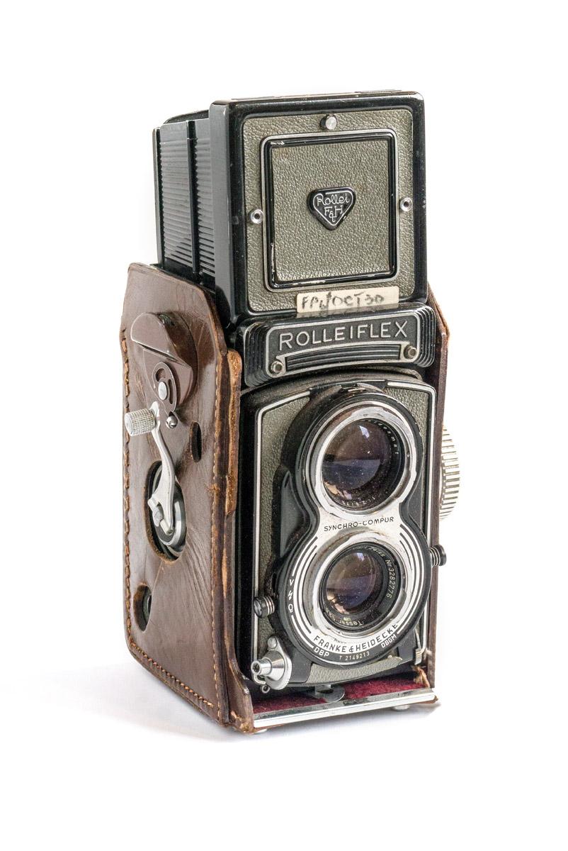 Diese Rolleiflex gehörte Paul Smiths Vater.