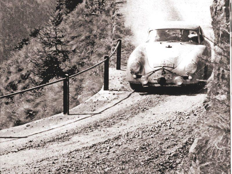 Porsche 356 mit Paul -Ernst Strähle