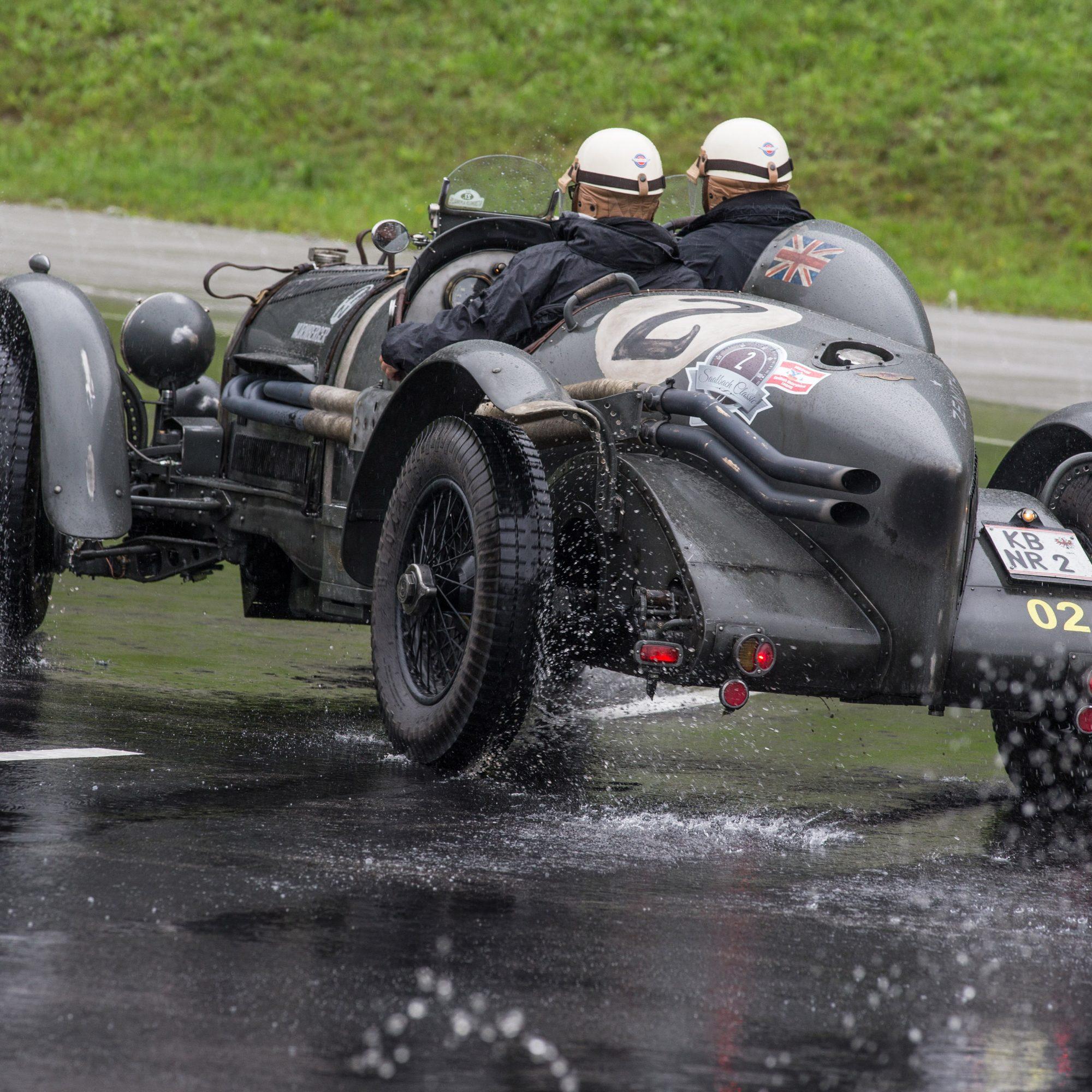 Teilnehmer der Saalbach-Classic und ihre Fahrzeuge