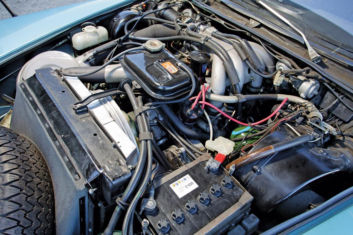 Motor einer Citroen DS