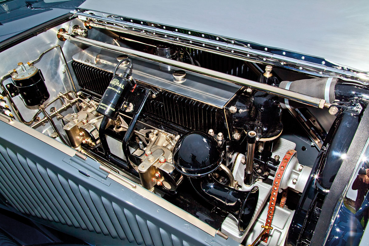 Motor des Voisin Aérodyne