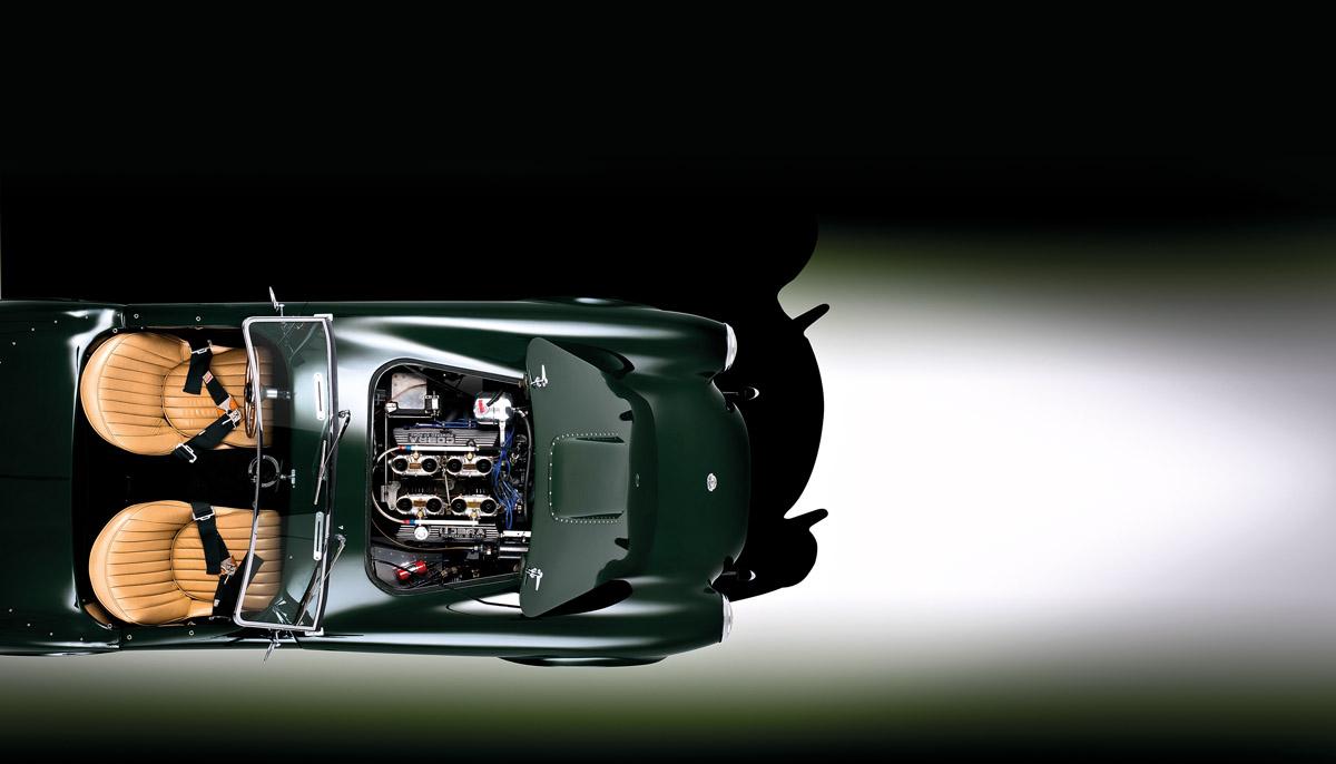 Motorraum der Shelby AC Cobra 260