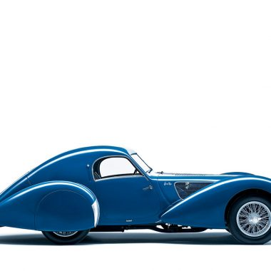 Talbot-Lago im Seitenprofil