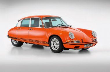 Porsche 911 DS als Clay-Modell in 1:1