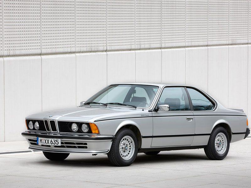 BMW 6er stehend