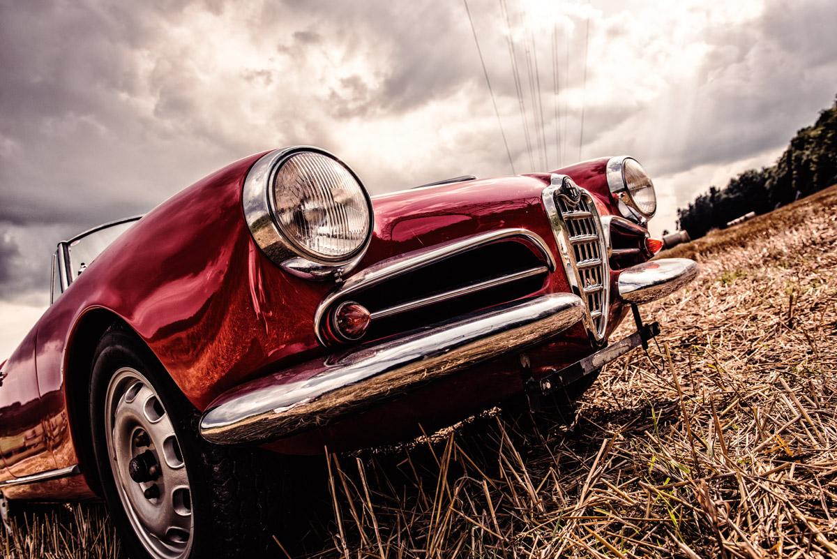 Front der Alfa Romeo Giulietta