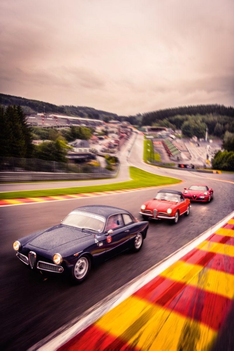 Alfa Romeo Giulietta und 4C auf der Rennstrecke