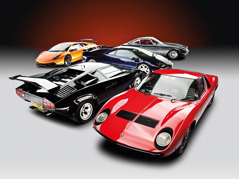 Die wichtigsten Lamborghini mit V12-Motor