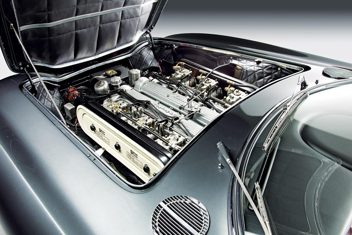 Motor des Lamborghini 350 GT