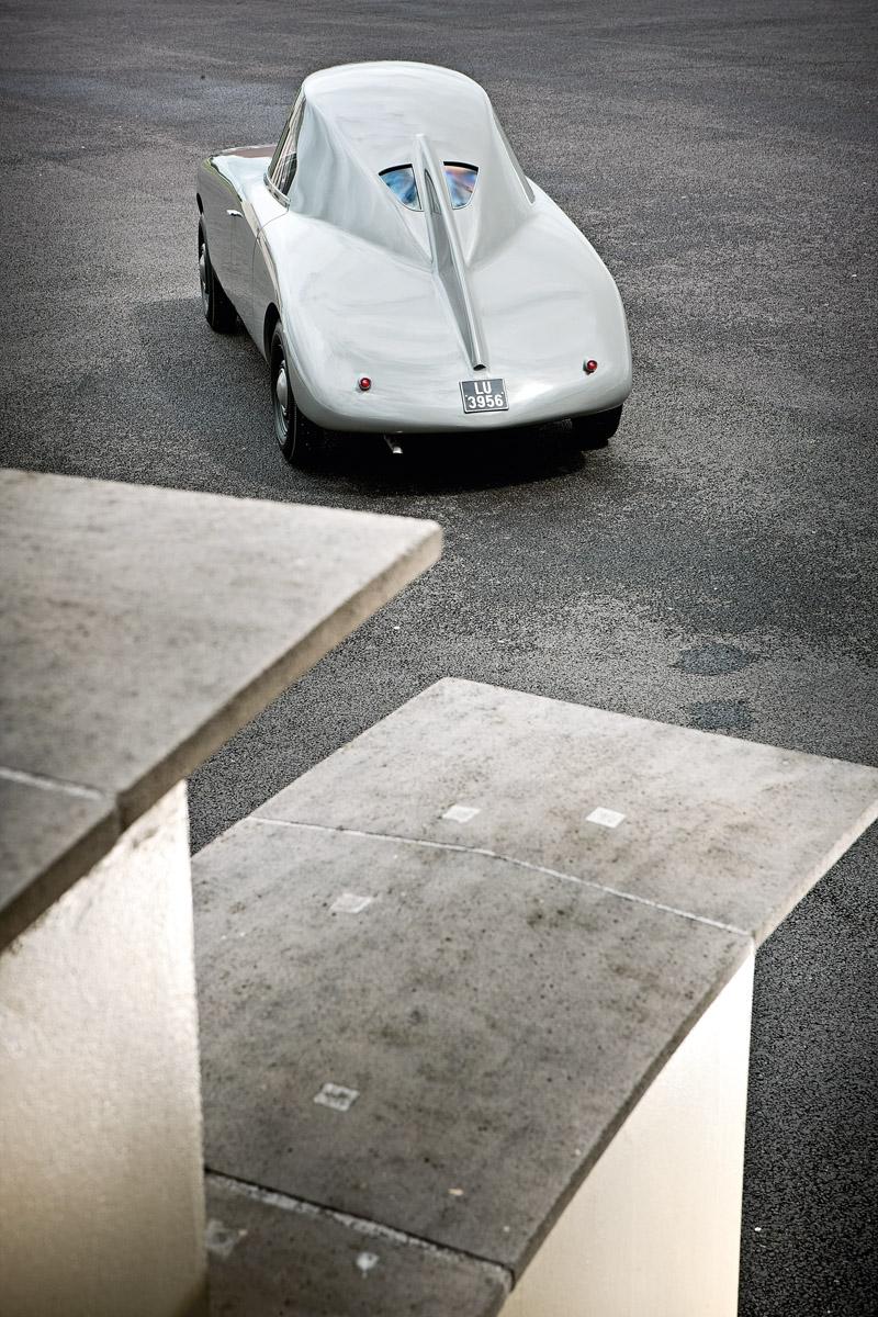 Heck des Jaray-Audi