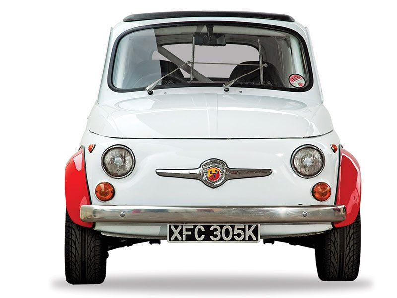 Fiat 500 Abarth frontal