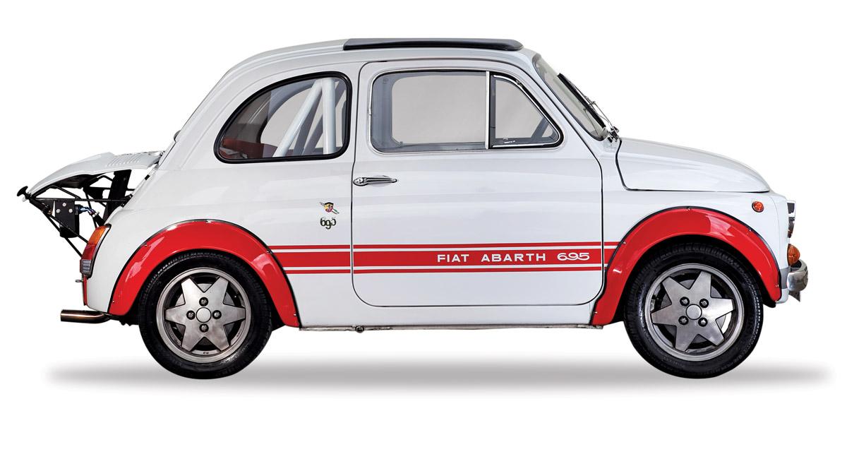 Fiat 500 Abarth im Profil