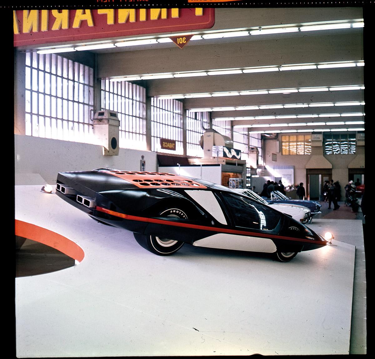 Pininfarina Modulo im Pininfarina-Museum