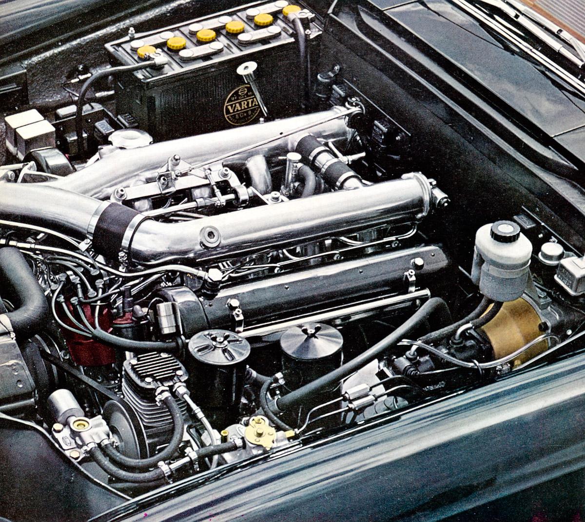 Mercedes-Benz Typ 600 (Baureihe W 100, 1964 bis 1981), V8-Motor M 100