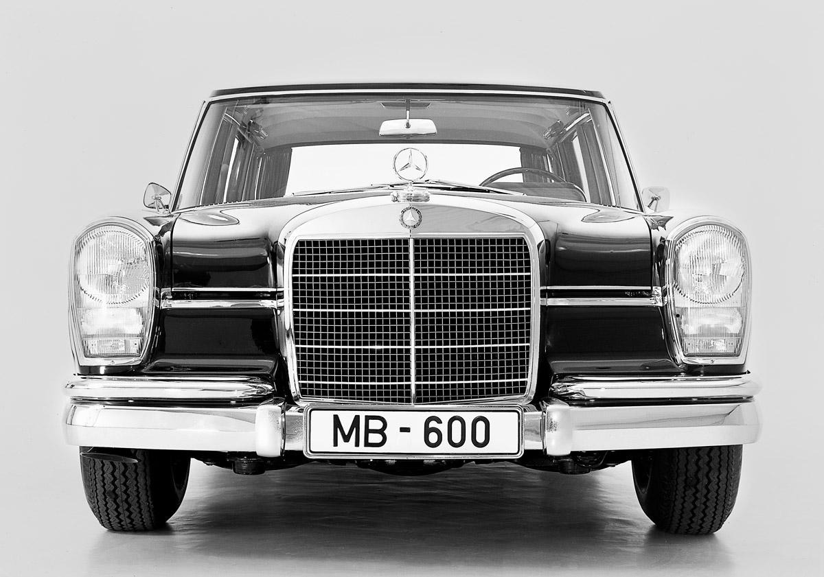 Front des Mercedes-Benz 600
