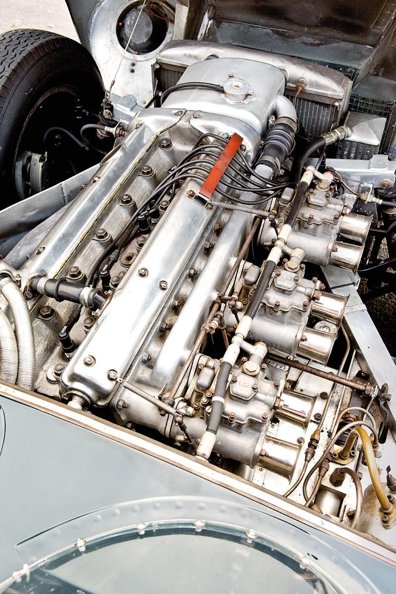 Motor des Jaguar D-Type