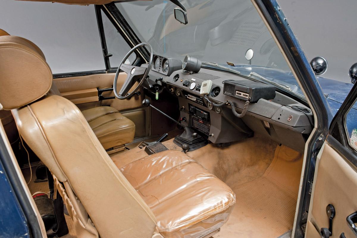 Range Rover der Panamericana 1972, Außenansicht und Cockpit