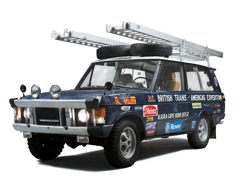 Range Rover mit Ausrüstung für die Panamericana