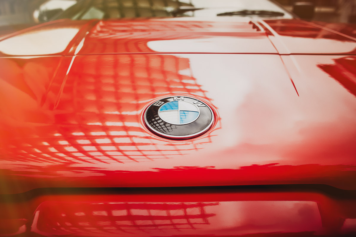 Details des BMW M1