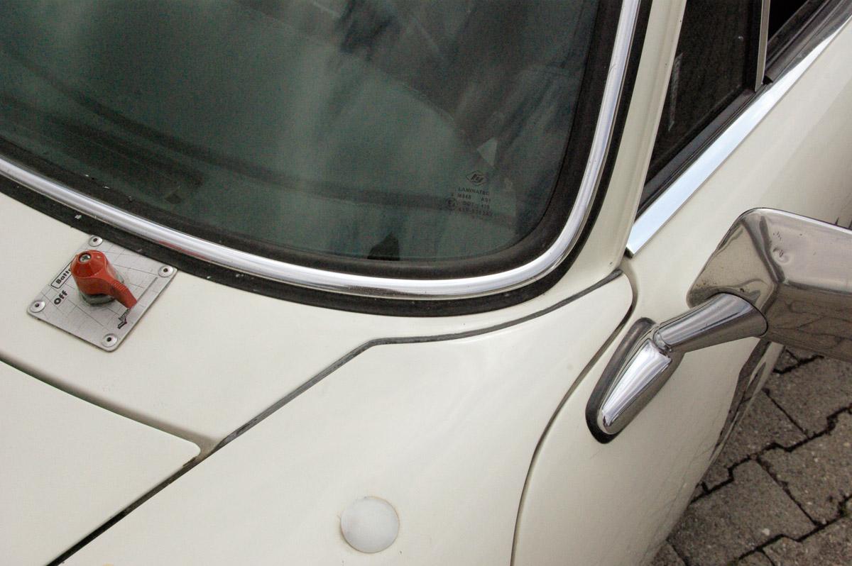 Karosseriedetail des Porsche 911 RSR Spezifikation