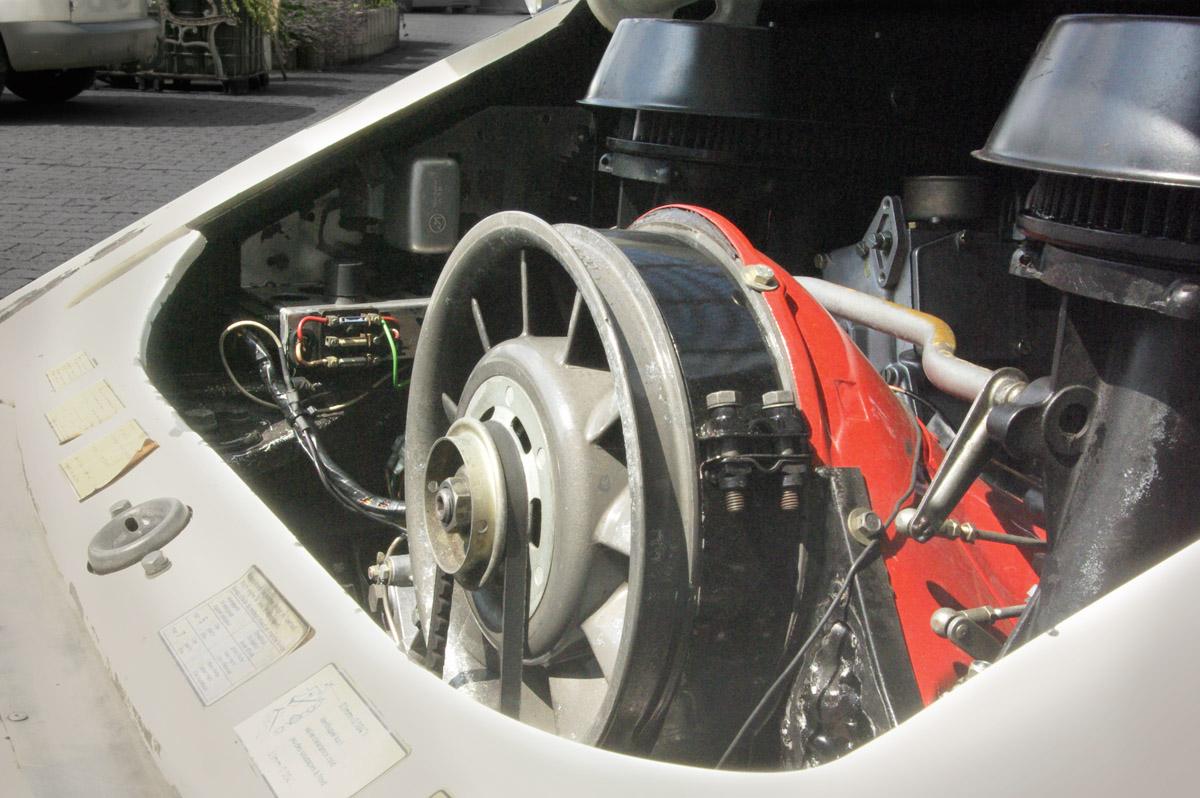Motor des Porsche 911 RSR Spezifikation