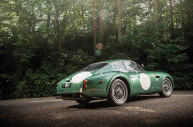 Aston Martin DB4GT Zagato, heckseitig