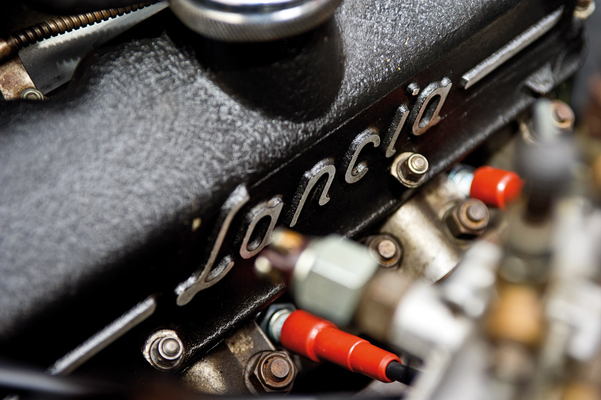 Details des Lancia Flaminia Super Sport