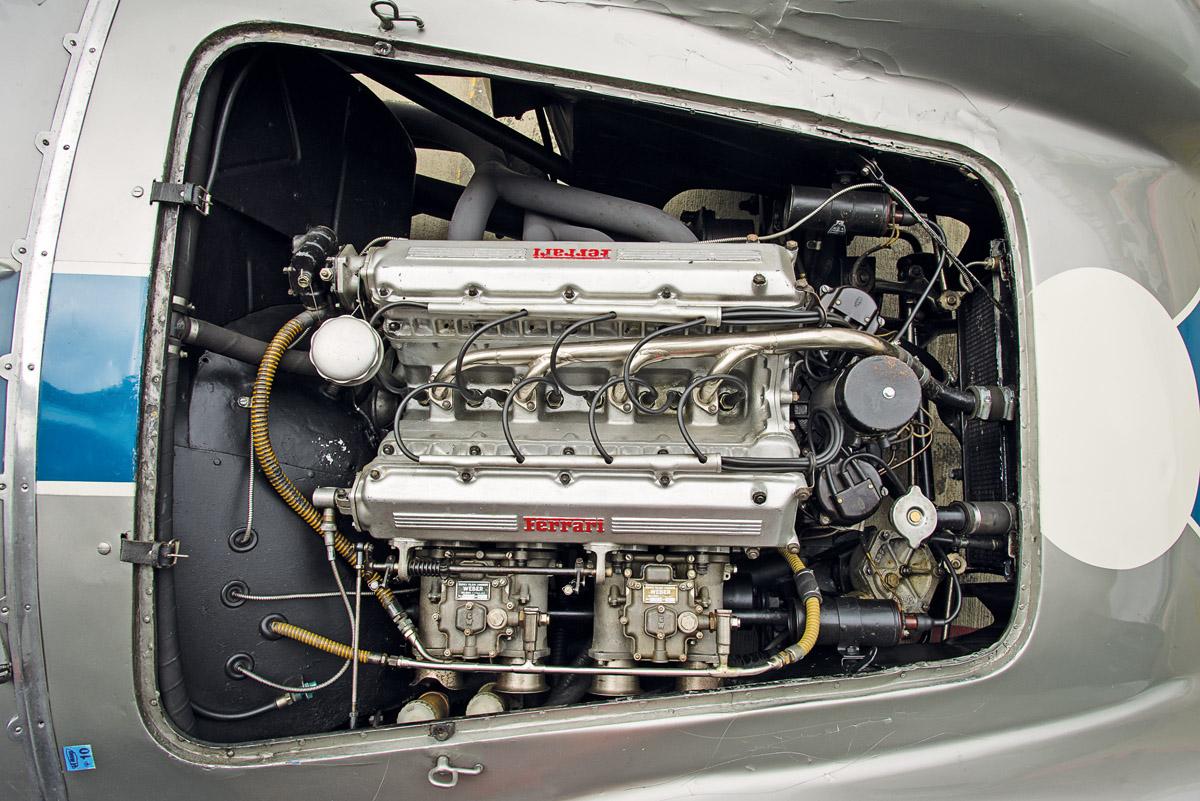 Motor des Ferrari 750 Monza Speciale