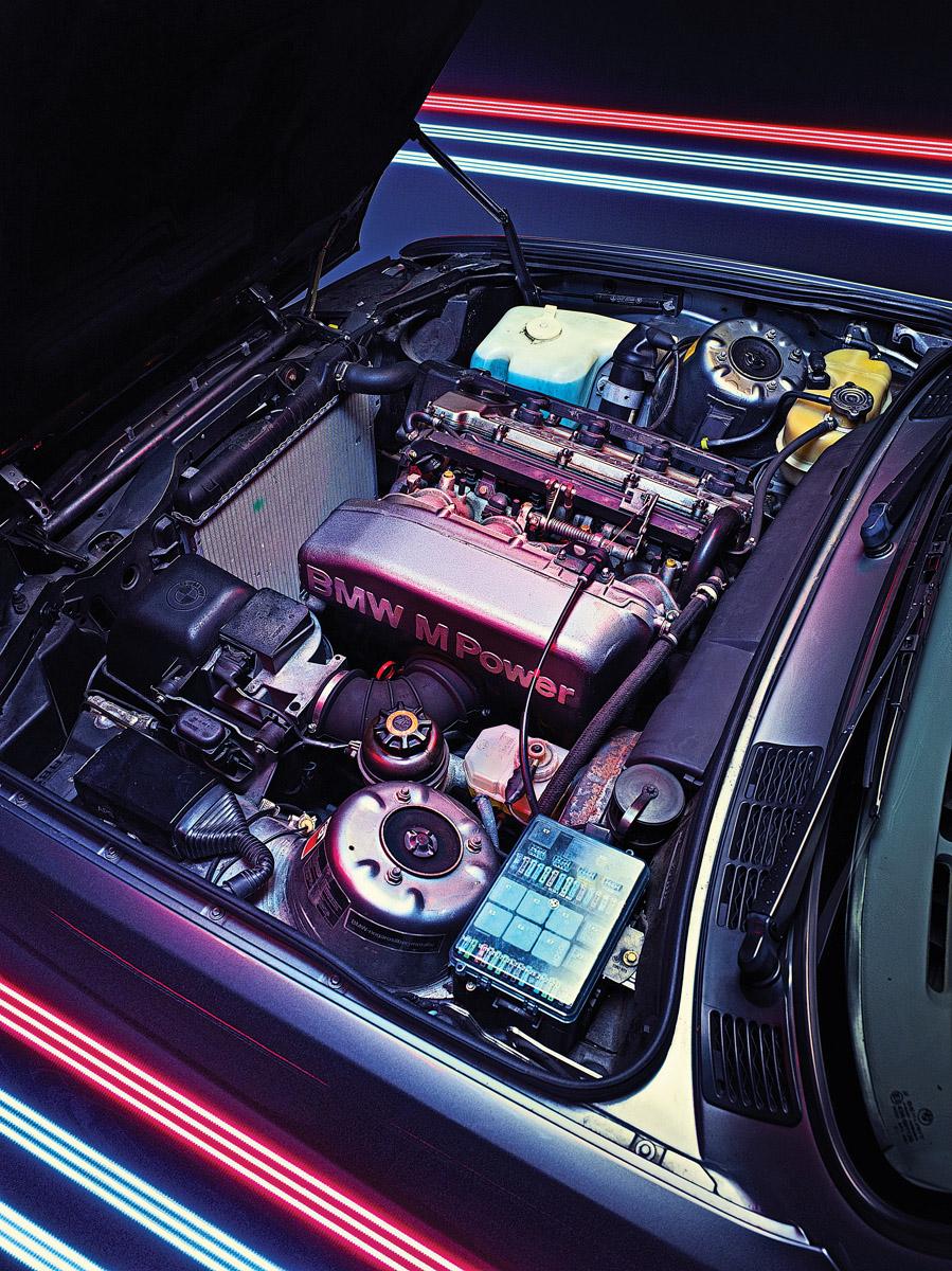Motor des BMW E30 M3