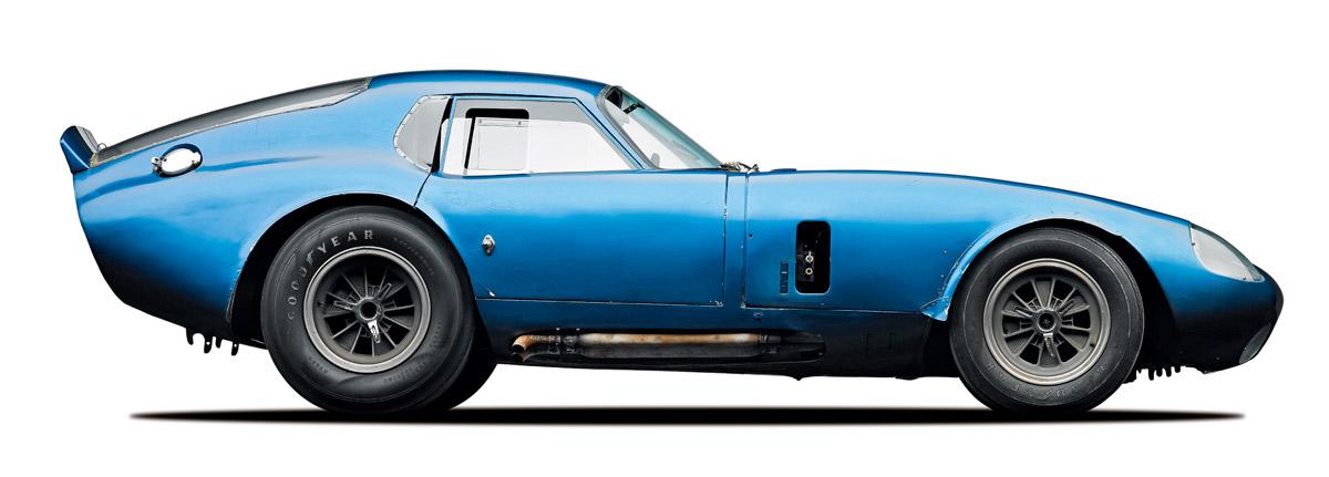 Shelby Cobra Daytona Coupé und Fahrzeugdetails