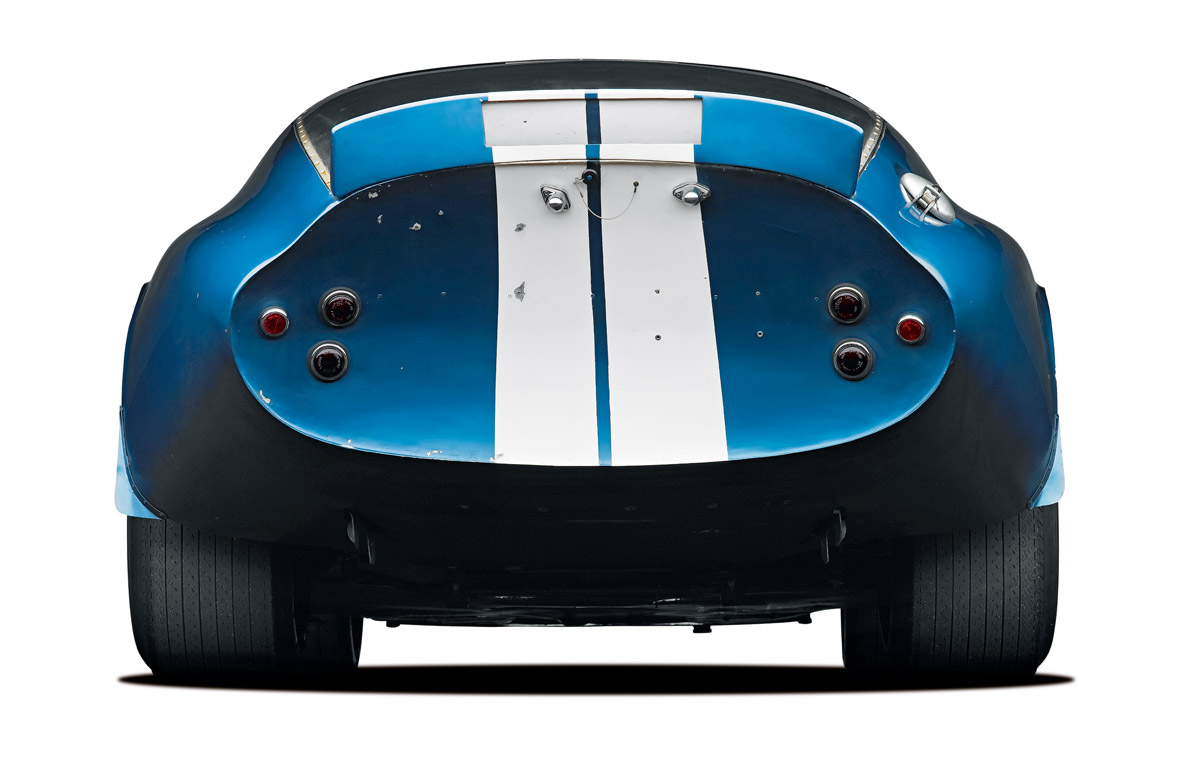 Heck des Shelby Cobra Daytona Coupés