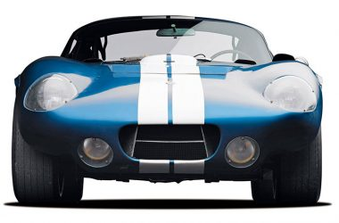 Shelby Cobra Daytona Coupé frontal