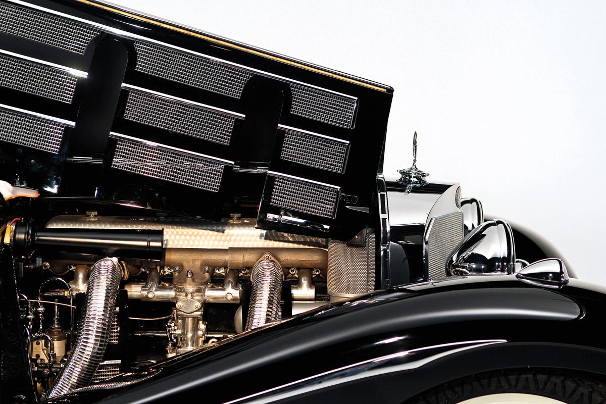 Motor des Mercedes-Benz 540K Spezial-Roadster