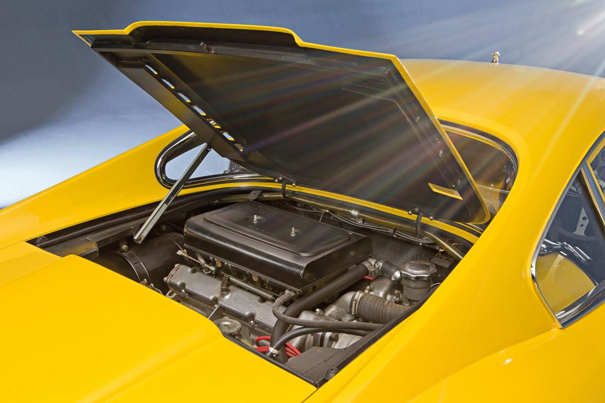 Motor des Ferrari Dino 246 GT