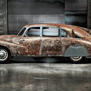 Tatra T87 im Profil